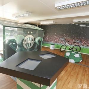 FTC Múzeum nyílt az új épülő stadionnál! Videó itt!