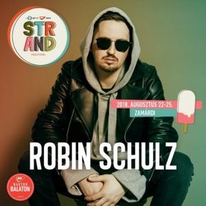 Robin Schulz koncert 2018-ban a Strand Fesztiválon - Jegyek itt!