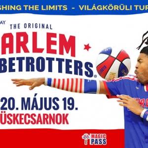 Harlem Globetrotters kosárlabda show 2020-ban Magyarorzágon - Jegyek itt!